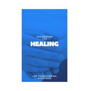 Declaration for Healing