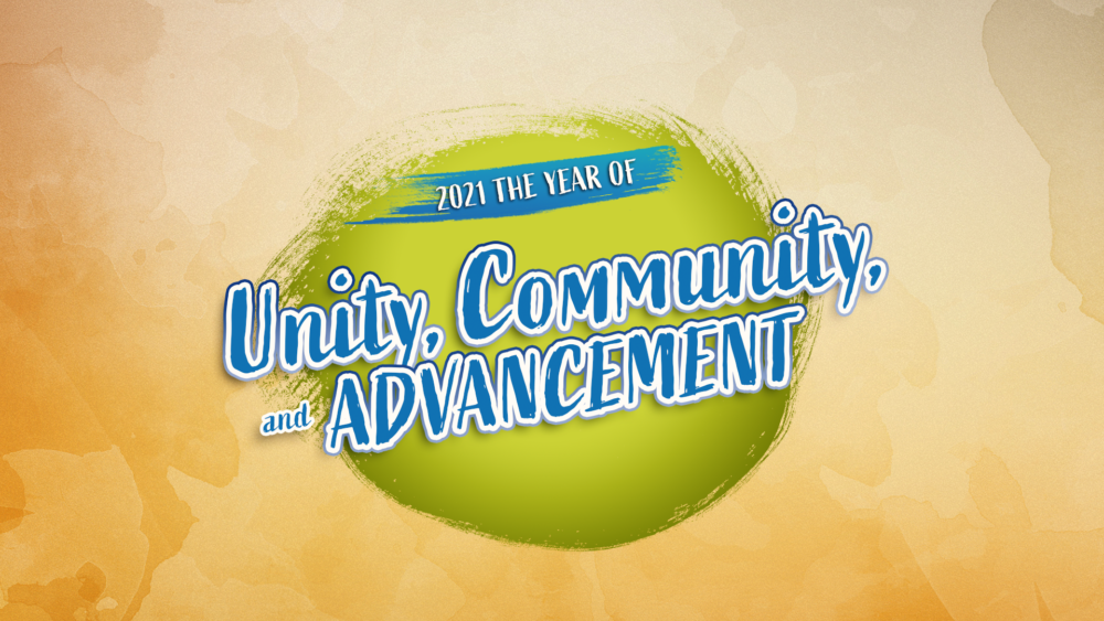 Unity, Community, and Advancement